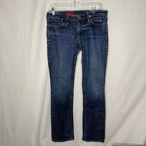 AG Adriano Goldschmied The Kiss Straight leg Jeans